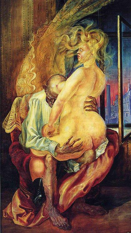 Ungleiches Liebespaar (Pareja desigual, 1925)
