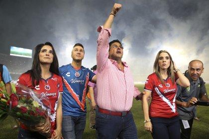 El polémico dueño de Veracruz, Fidel Kuri (Foto: Ilse Huesca/ Cuartoscuro)