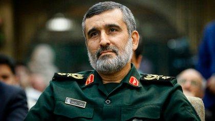 El general iraní Amir Ali Hajizade