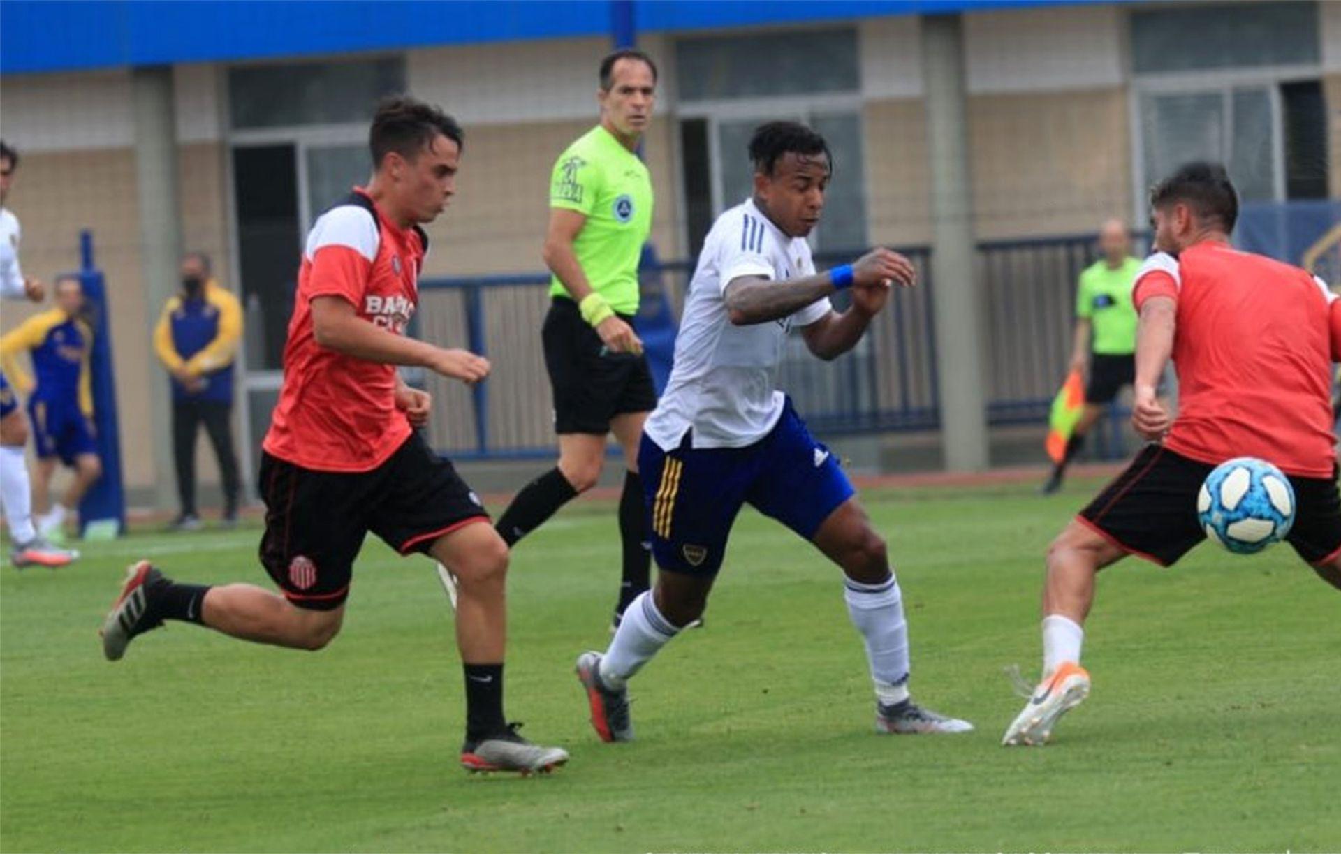 amistoso Boca vs Barracas Central