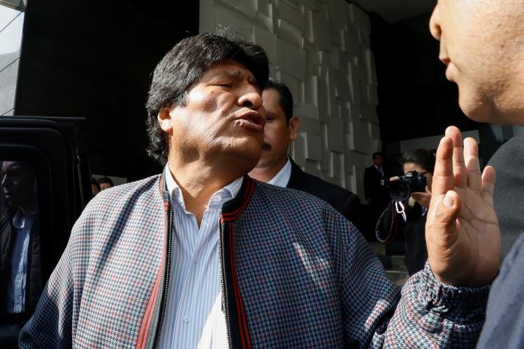 Evo Morales se encuentra exiliado en México (REUTERS/Carlos Jasso)