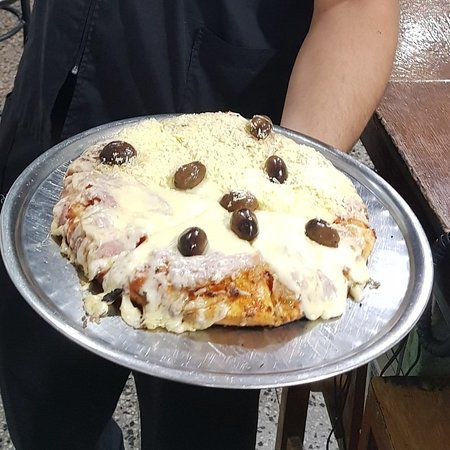 La pizzeta de muzzarella de Los 3 Ases