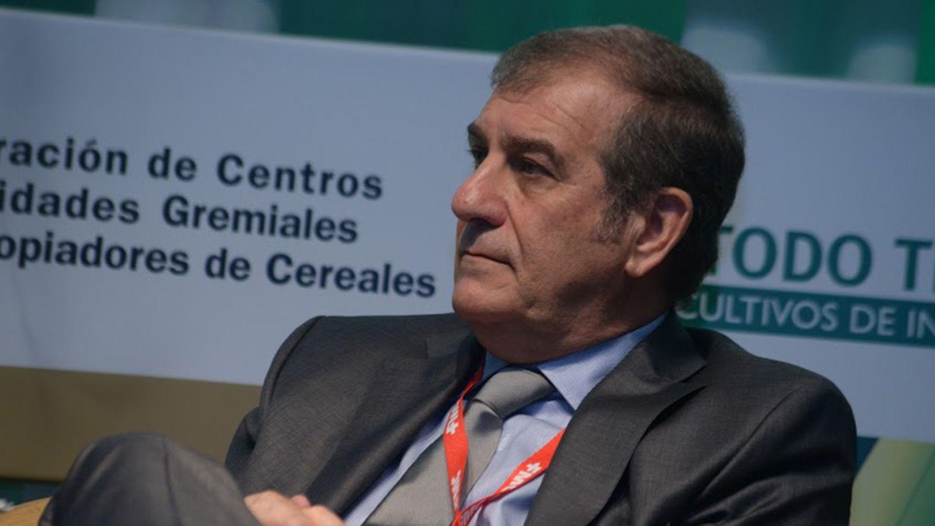 Fernando Riavara, presidente de la Federación de Acopiadores