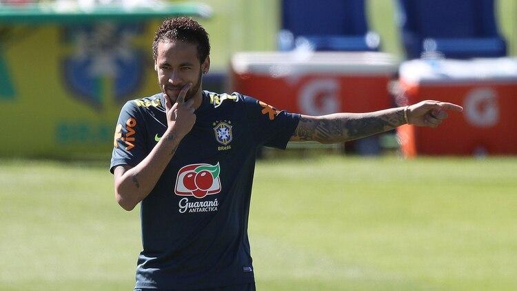 Neymar está en Brasil de cara a la Copa América (EFE)