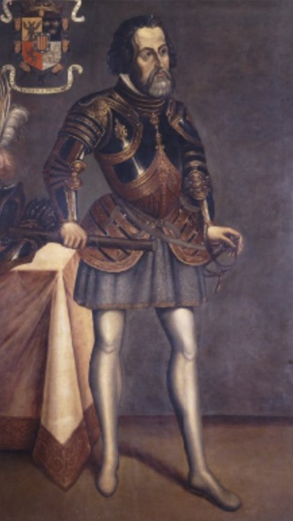 Hernán Cortés  (Foto: INAH)