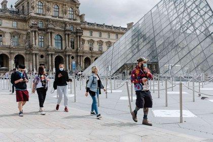 06/07/2020 Primeras imágenes de la reapertura del Louvre durante la pandemia de coronavirus. POLITICA INTERNACIONAL Jan Schmidt-Whitley/Le Pictorium / DPA