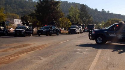 The bodies were found on the Pátzcuaro-Tacámbaro highway (Photo: Cuartoscuro)