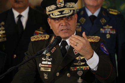 El ministro de Defensa del régimen de Maduro, Vladimir Padrino.
