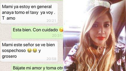 Karen desapareció al sur de la Ciudad de México luego de haber tomado un taxi (Foto: Facebook)