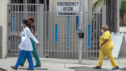 Miami-Dade y Broward, los condados del sureste de Florida que son los más afectados por la pandemia (EFE/EPA/CRISTOBAL HERRERA-ULASHKEVICH/Archivo)