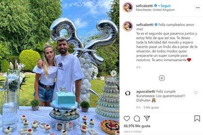 El posteo de Sofía Calzetti (Instagram)