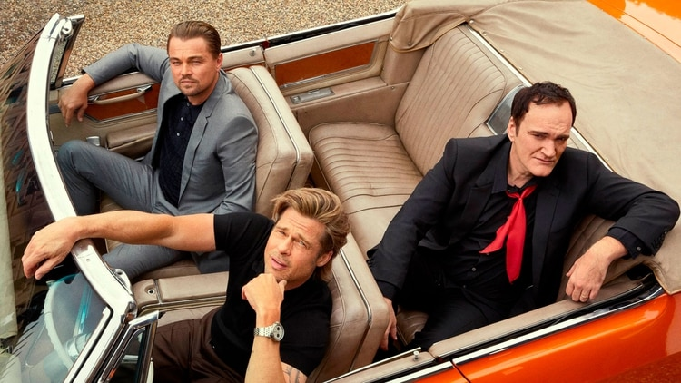 Tarantino logró lo que nadieantes, reunir en un mismo film a Brad Pitt y Leonardo DiCaprio (Foto: Archivo)