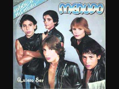 Uno de los discos de Menudo