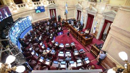 El Congreso Nacional aprobó en diciembre pasado la ley (Foto: Charly Diaz Azcue / Comunicacion Senado)