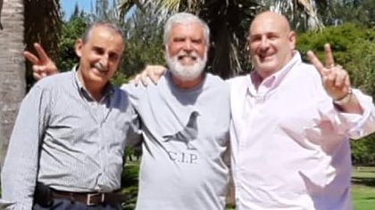 De Vido con Guillermo Moreno y Santiago Cueno en su chacra cuando cumplía la prisión domiciliaria