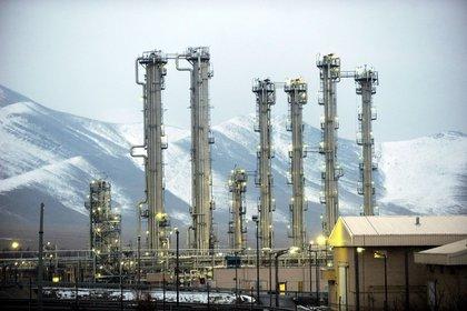 Reactor de la ciudad de Arak (Irán)