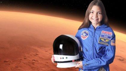 Alyssa Carson entrena para ser astronauta en la Agencia Espacial de EEUU (Nasa)