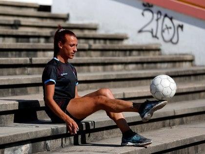 Mara Gómez será la primera jugadora trans en la primera división femenina de Argentina (REUTERS)