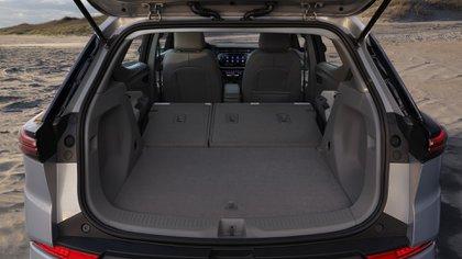 La marca logró conseguir un buen espacio de carga a pesar de su motorización eléctrica (Chevrolet)