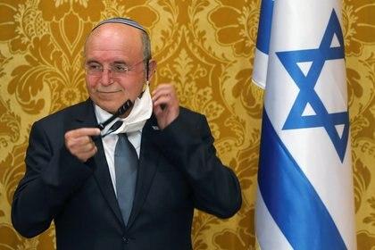 El asesor de seguridad nacional de Israel, Meir Ben Shabbat (REUTERS/Hamad I Mohammed)