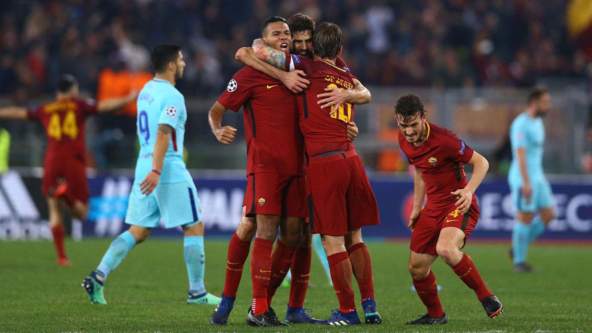 El Barcelona sufrió su primera dura derrota en el Olímpico de Roma