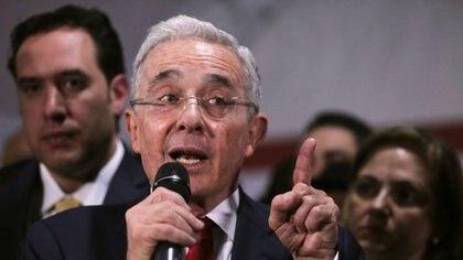 El ex presidente colombiano Álvaro Uribe (Reuters)