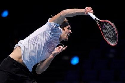 Zverev es el tenista número 7 del mundo (Foto: Reuters)