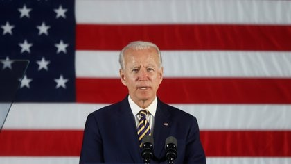 Joe Biden, candidato presidencial por el partido Demócrata (REUTERS/Jonathan Ernst/File Photo)