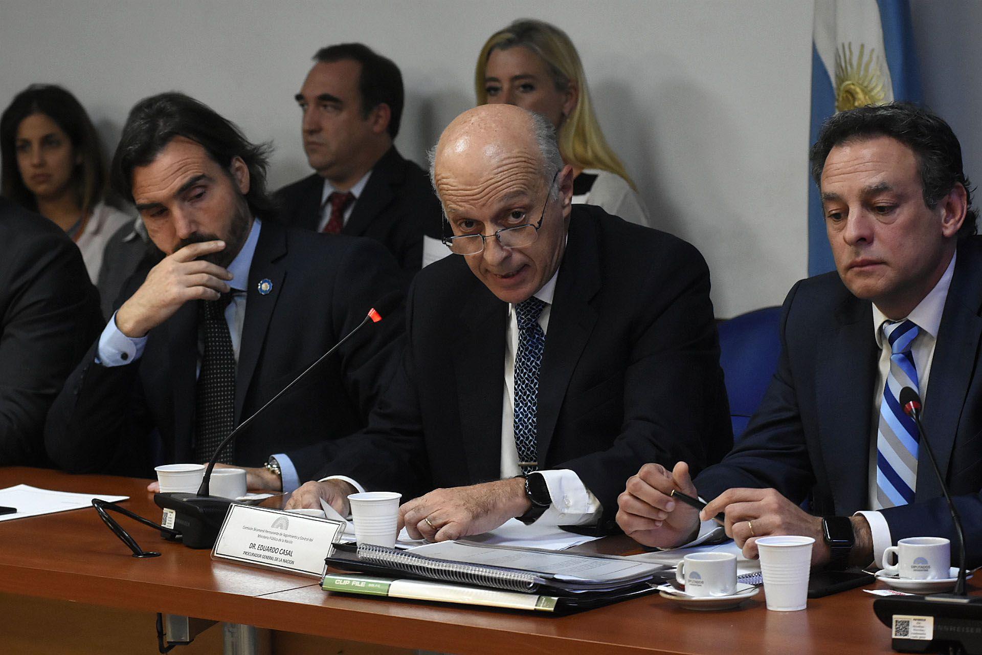 El Procurador cree que el proyecto presentado va en contra del sistema acusatorio (Nicolás Stulberg)