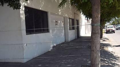 """La casa de Los Mochis donde fue detenido """"el Chapo""""."""