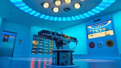 La sala de operaciones equipada para la transmisión 5G