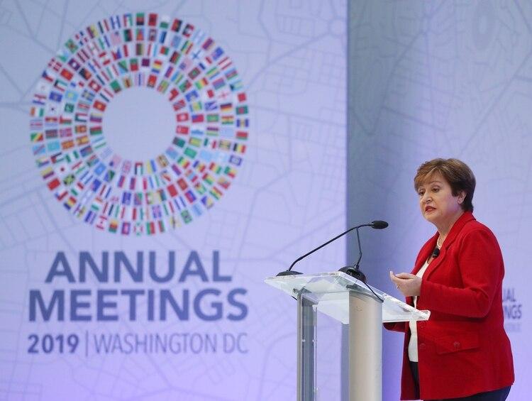 Kristalina Georgieva (Mark Wilson/Getty Images/AFP)