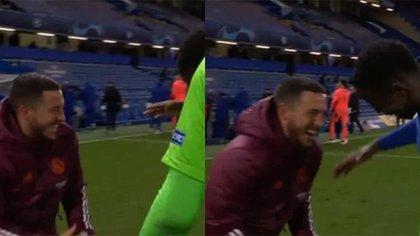 Eden Hazard rompió el silencio después de haberse reído en la eliminación del Real Madrid en la Champions League