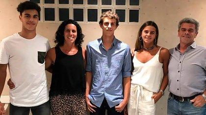 La familia Cerúndolo (Instagram)