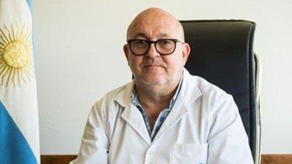 Alberto Maceira, director del Hospital del Posadas