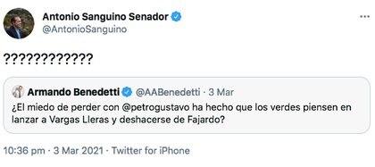 Trino de Antonio Sanguino