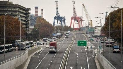 El Paseo del Bajo es una de las últimas grandes obras de la Ciudad, que ahora paralizará ese rubro para ajustar gastos