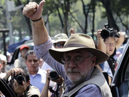 Javier Sicilia inició su participación en protestas, en marzo de 2011, cuando células del Cártel del Pacífico Sur (CPS) asesinaron a su hijo. (Foto: Reuters)