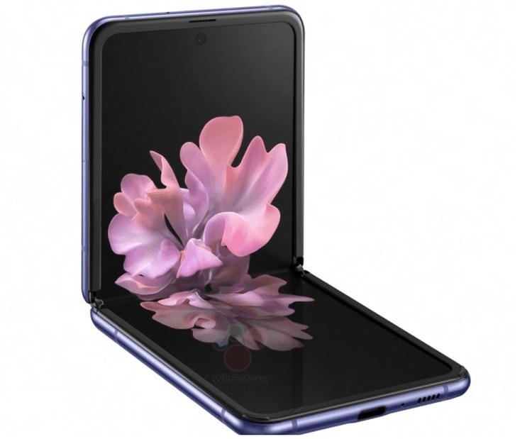 Se estima que el Samsung Galaxy Z Flip tendrá una pantalla alargada de 6,7 pulgadas.