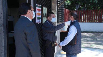 La Cámara de Diputados también aplica flitros sanitarios a partir de esta semana por la crisis de coronavirus (Foto: Especial)