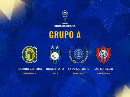 El Grupo A de la Copa Sudamericana que tendrá un duelo argentino.