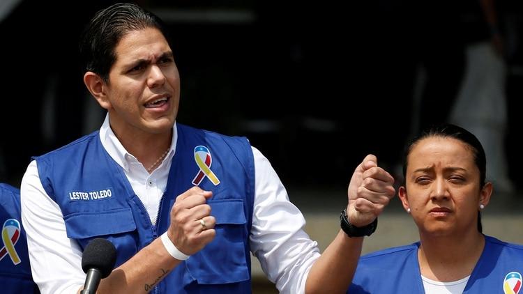 Lester Toledo, coordinador internacional para la ayuda humanitaria (Reuters)