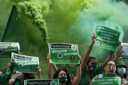 La fiesta fue del lado verde (Matias Chiofalo - Europa Press)