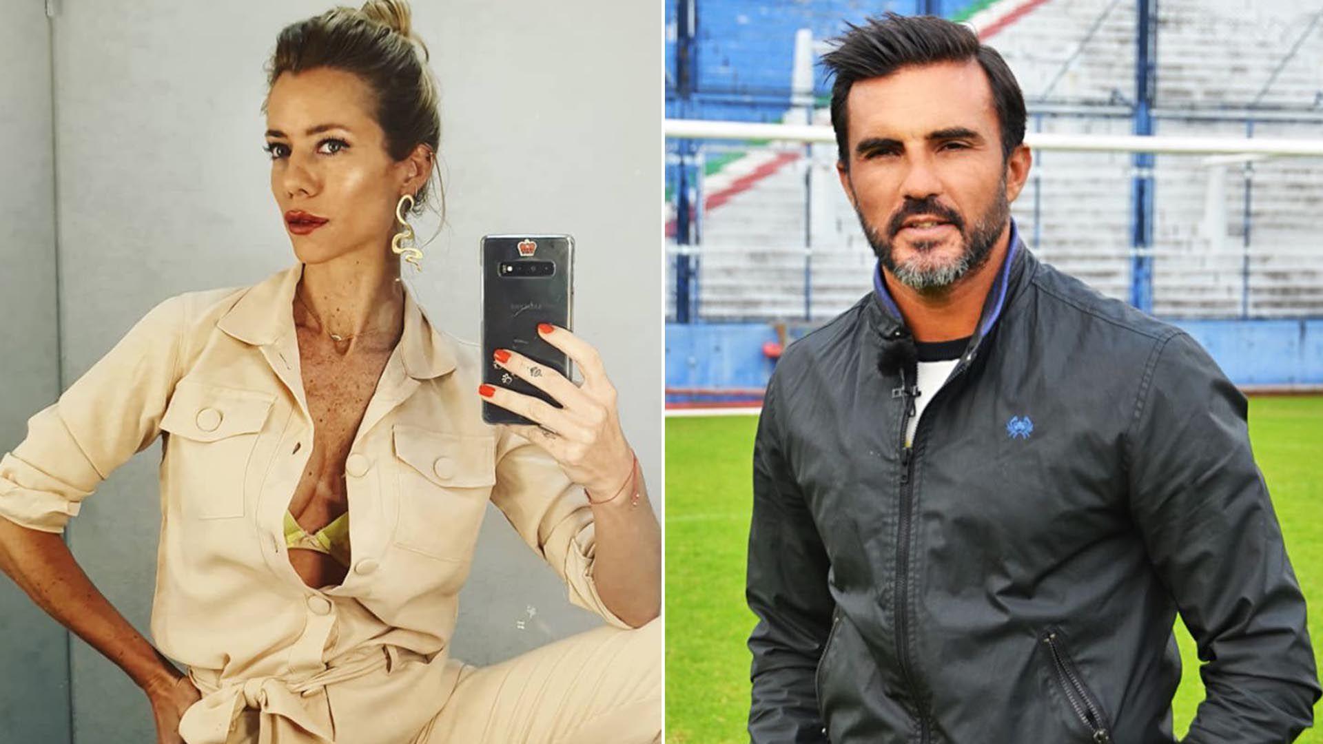 Nicole Neumann y Fabián Cubero estuvieron 11 años en pareja y se divorciaron en medio de un escándalo