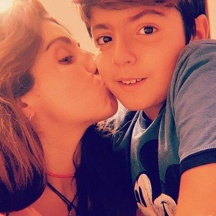Gianinna y Benjamín (Instagram)