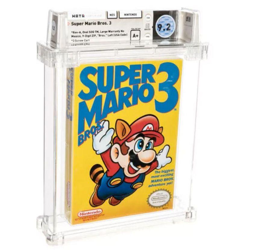 Super Mario Bros 3 (Heritage Auction)
