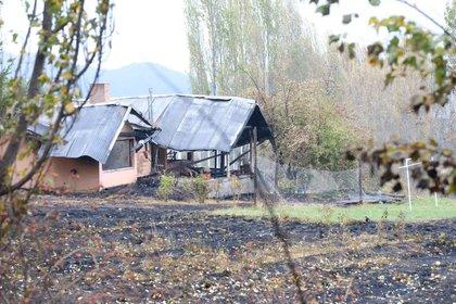 Varias viviendas de la zona terminaron completamente destruidas (Ministerio de Ambiente/cf/Telam)