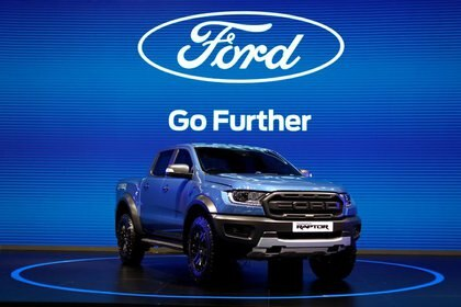Foto de archivo de una Ford Ranger Raptor en el Bangkok International Motor Show.  Jul 14, 2020. REUTERS/Jorge Silva