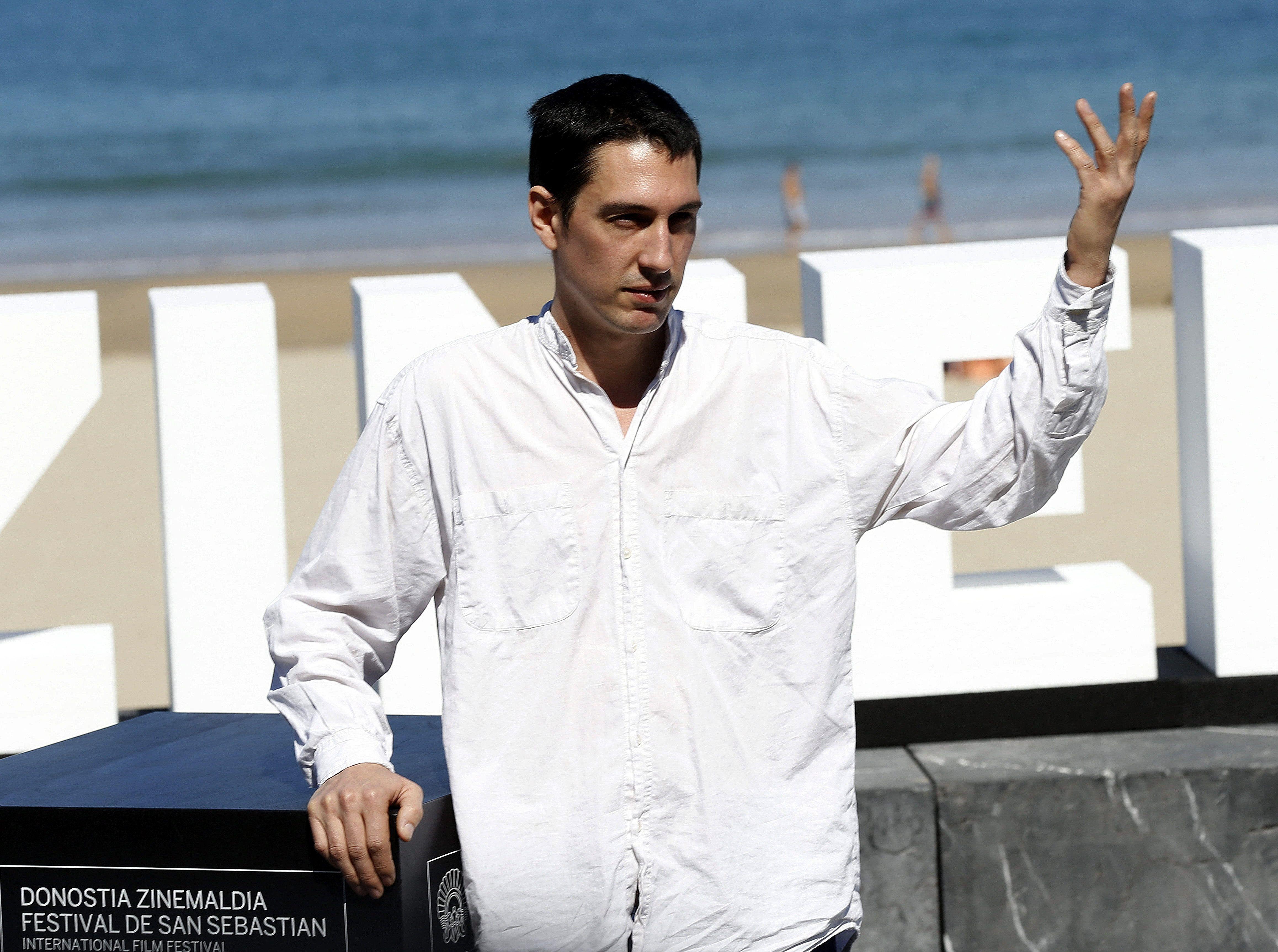 El director Pablo Agüero, director de Akelarre ( EFE/Javier Etxezarreta/Archivo)