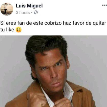 Roberto Palazuelos también fue víctima de los hackers. El actor criticó a Luis Miguel hace tiempo (Foto:Facebook)
